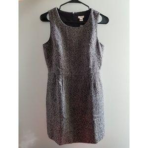 J. Crew Tweed Sleeveless Dress